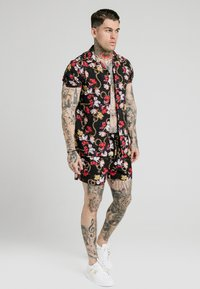 SIKSILK - STARLITE RESORT - Camisa - black - 1