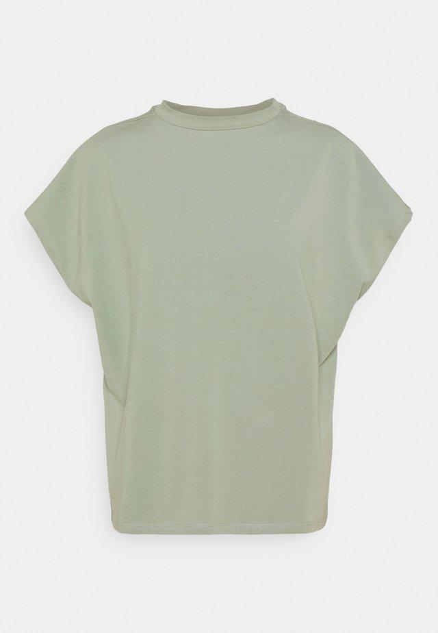 NMHAILEY - Jednoduché triko - slate gray