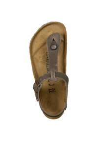 Birkenstock - T-bar sandals -  brown - 1