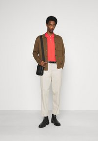 TOM TAILOR - BASIC WITH CONTRAST - Polo shirt - plain red - 1