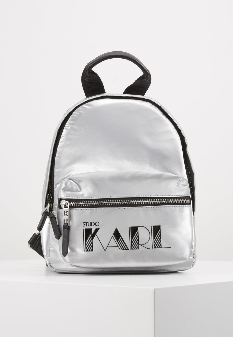 KARL LAGERFELD - BACKPACK - Sac à dos - silver
