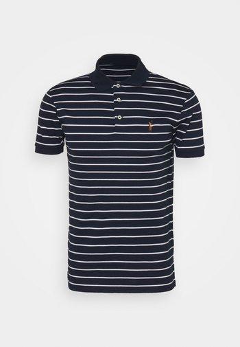 PIMA POLO - Polo shirt - french navy/white