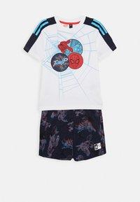 adidas Performance - LB DY SM SUM - Pantalón corto de deporte - white/blue - 1