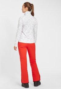 O'Neill - CLIME  - Fleece jacket - white aop w/ brown or beige - 2
