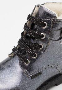 Primigi - Lace-up ankle boots - canna fucile - 5