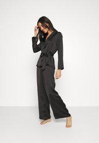 Etam - ERINA PANTALON - Pyjama bottoms - noir - 1