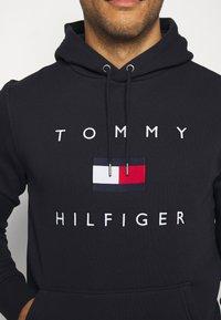 Tommy Hilfiger - FLAG HOODY - Sweat à capuche - blue - 5