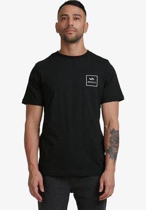 ALL THE WAYS - Print T-shirt - black