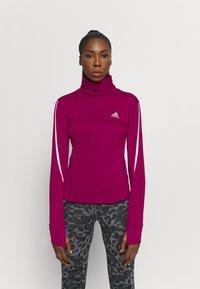 adidas Performance - COVER UP  - Camiseta de deporte - power berry - 0