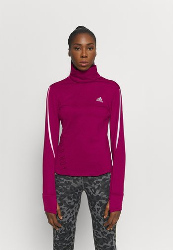 COVER UP  - Sports shirt - power berry