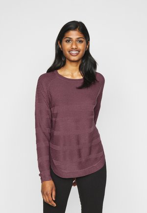 ONLCAVIAR - Pullover - wild ginger