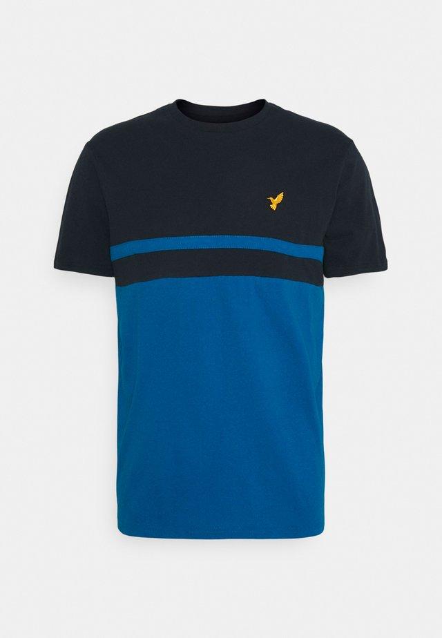 Camiseta estampada - dark blue / blue
