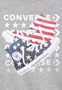 Converse - AMERICANA SHOES CREW - Sweatshirt - dark grey heather - 2