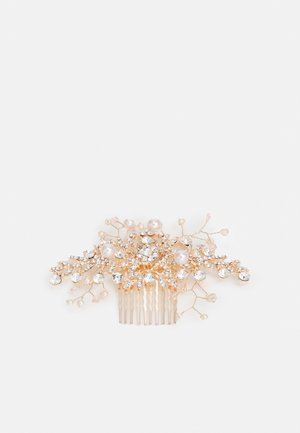 MULLENDER - Hårstyling-accessories - clear & pearl on rose gold-coloured
