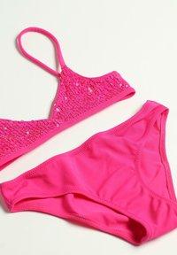 Calzedonia - Bikini - paillettes fucsia trendy - 1