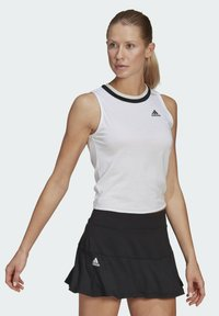 adidas Performance - CLUB KNOT TANK TENNIS AEROREADY PRIMEGREEN REGULAR TOP - Top - white - 2