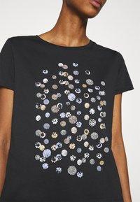 Anna Field - Print T-shirt - black - 4