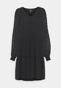 PCNUTSI DRESS - Day dress - black
