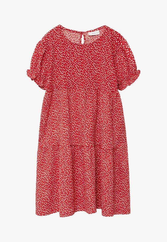 ROVI-I - Day dress - rouge