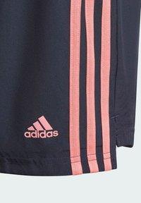 adidas Performance - ADIDAS DESIGNED TO MOVE 3-STRIPES SHORTS - Sports shorts - blue - 5