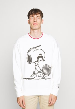 LEVI'S® X PEANUTS RELAXED CREW SWEATSHIRT UNISEX - Sweater - marshmallow