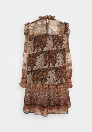 OBJARYA SHORT DRESS - Robe d'été - sandshell