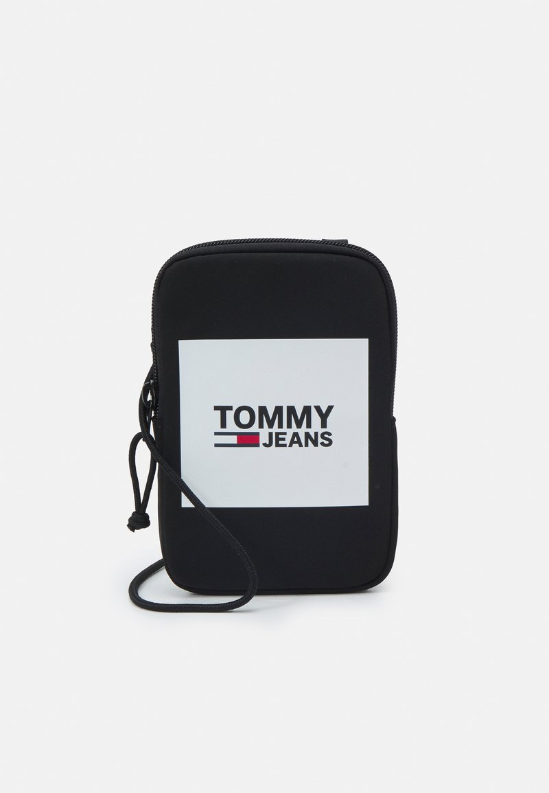 Tommy Jeans - URBAN COMPACT UNISEX - Across body bag - black