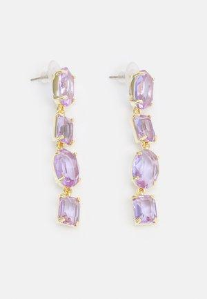 DAUPHINE LONG EAR - Earrings - lilac