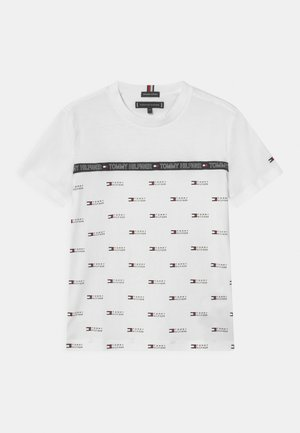 TAPE  - T-shirt imprimé - white