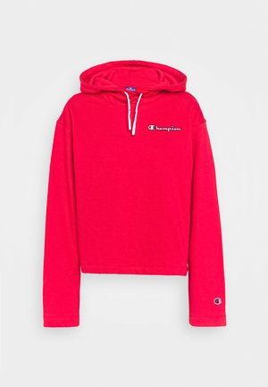 HOODED ROCHESTER - Hoodie - red
