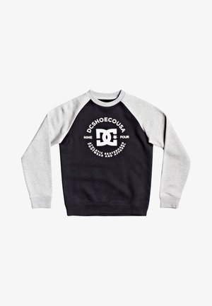 Sweatshirt - black/grey heather