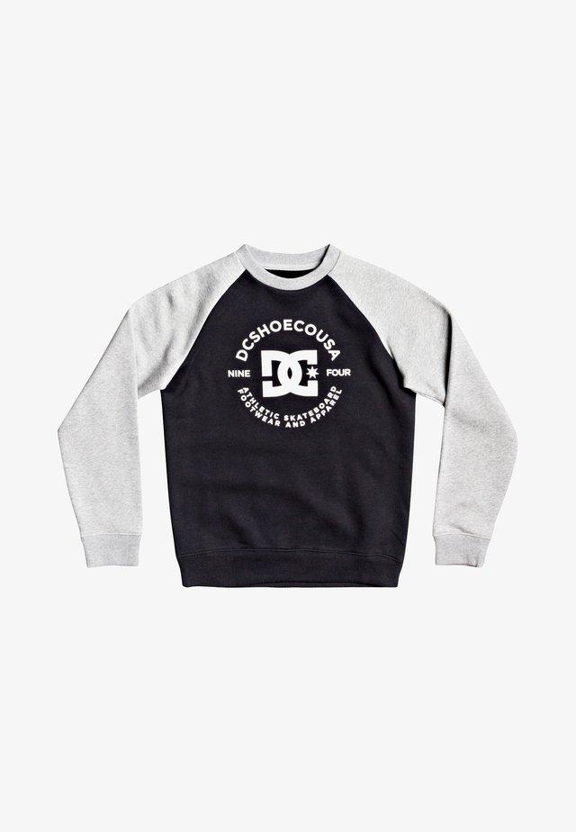 Sweater - black/grey heather
