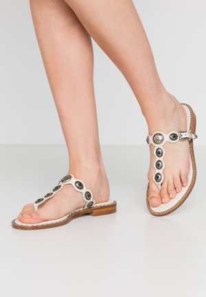 PATTY - T-bar sandals - soft brasil ivory