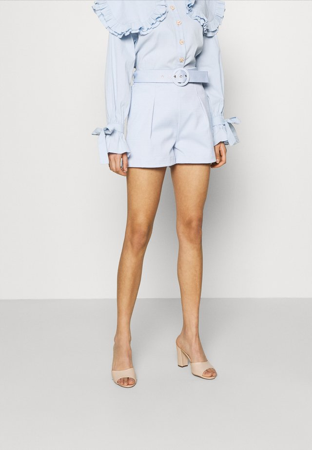 DEAREST TAILORED - Shorts - blue
