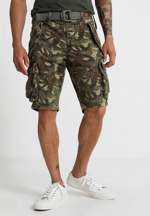 CORE CARGO HEAVY - Shorts - splatter