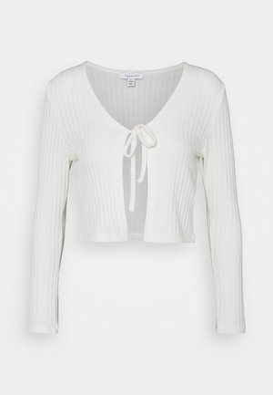 COSY BRUSHED RIB  - Maglietta a manica lunga - winter white