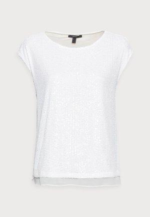 PAILETTEN SHIRT - T-Shirt print - off white