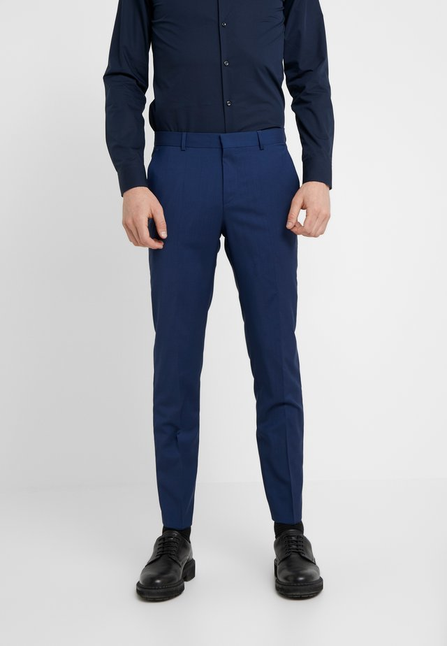 GRIFFIN - Suit trousers - medium blue