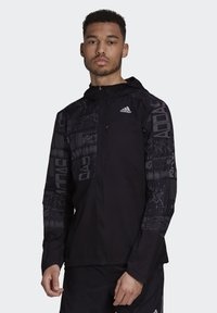adidas Performance - OWN THE RUN REFLECTIVE JACKET - Training jacket - black - 0