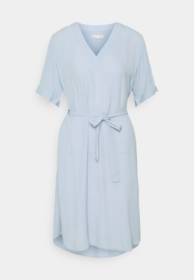 QUINN DRESS - Day dress - zen blue