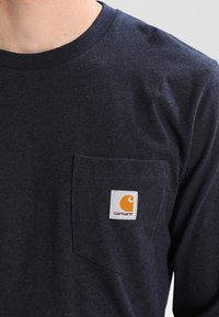 Carhartt WIP - POCKET  - Long sleeved top - dark navy heather - 3