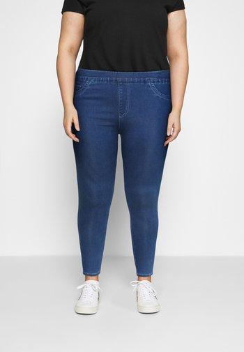 SCULPTING SKINNY JEGGINGS - Jeans Skinny Fit - mid blue