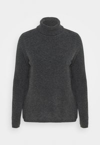 SLFSTACEY ROLLNECK - Jumper - dark grey melange
