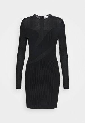 SLASH DRESS - Day dress - black