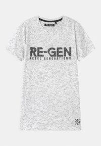 Re-Gen - TEEN BOYS  - Print T-shirt - white - 0
