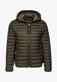 Marc O'Polo - REGULAR FIT LONG SLEEVE HOOD - Light jacket - grape leaf - 5
