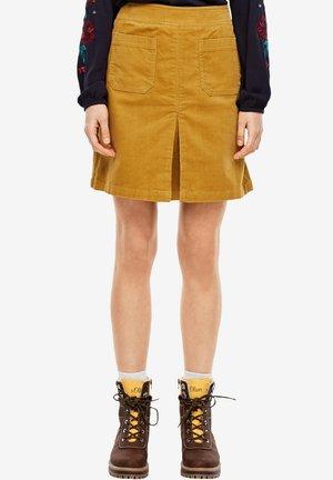 A-line skirt - honey