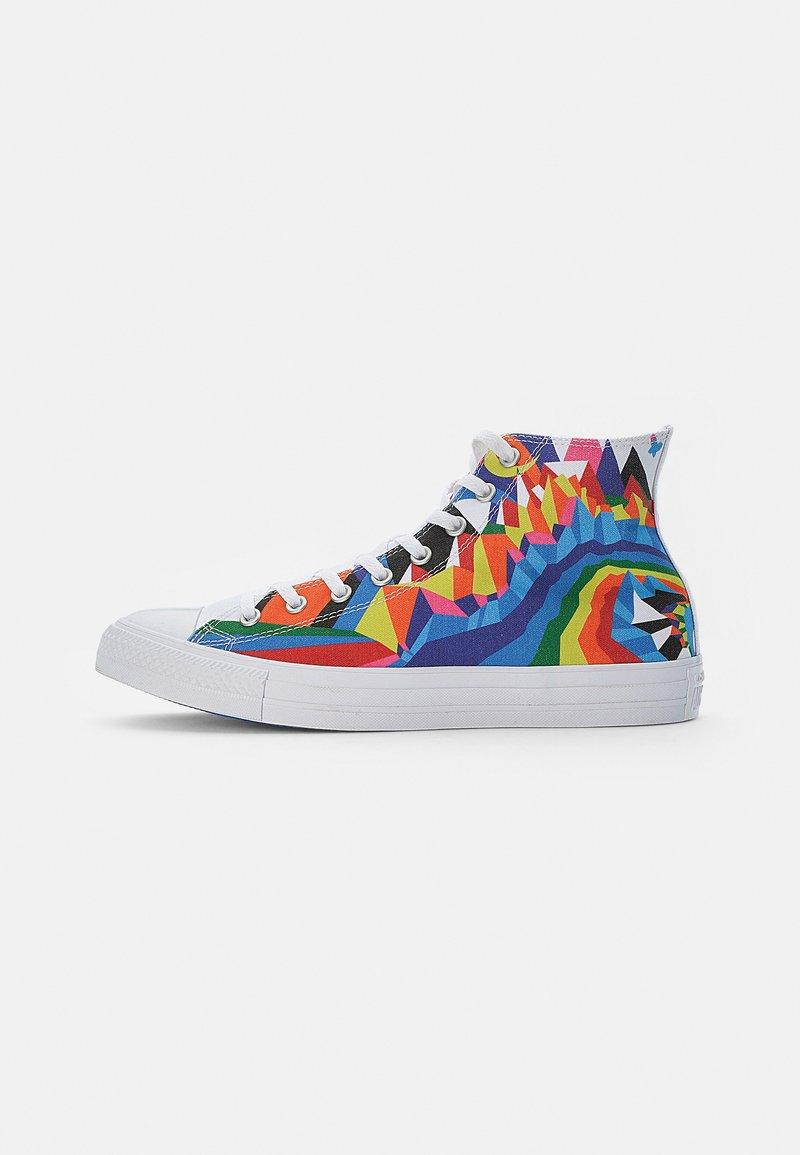 Converse - CHUCK TAYLOR ALL STAR PRIDE - Zapatillas altas - white/multi/white