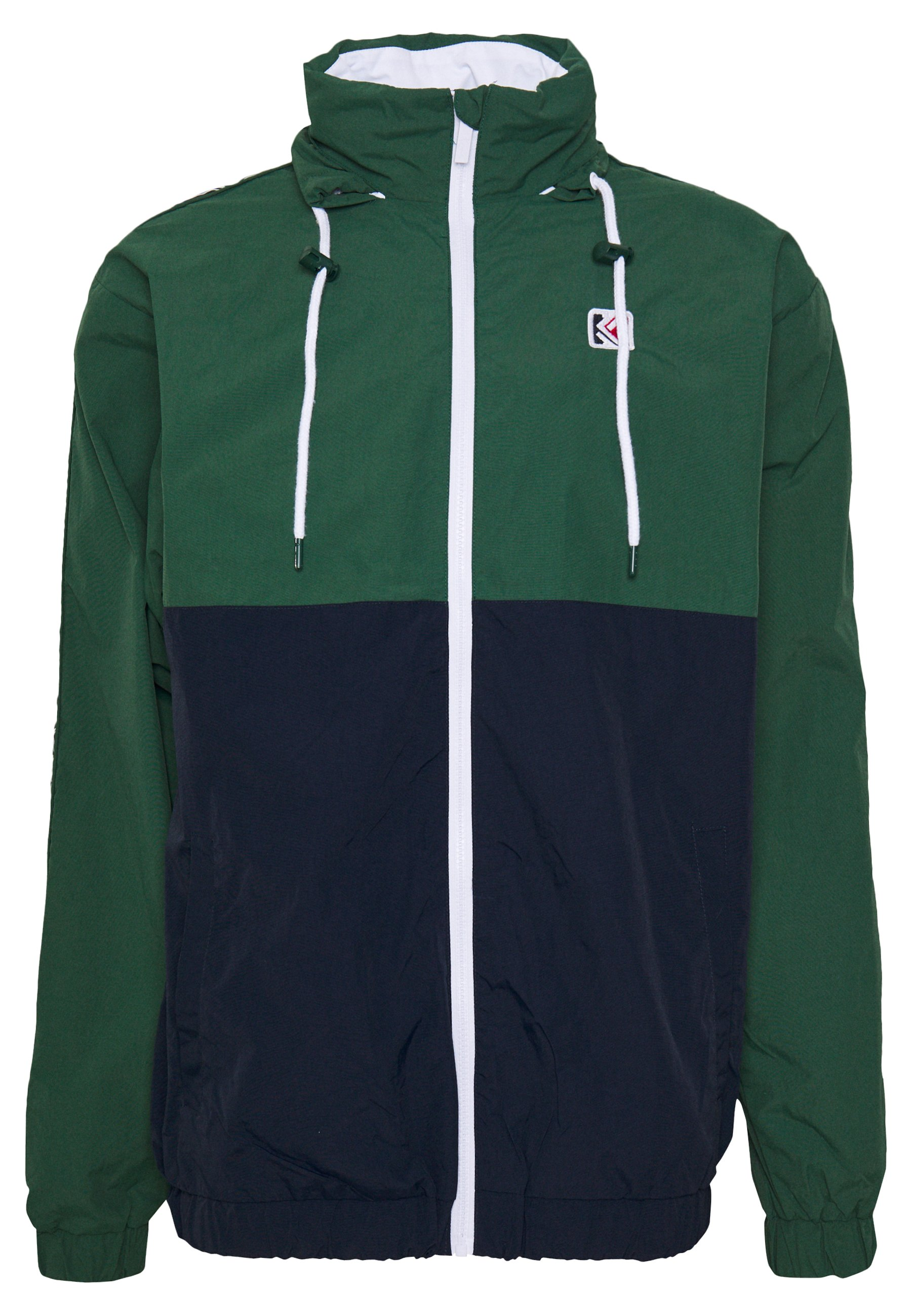 Karl Kani RETRO TAPE TRACKJACKET - Veste de survêtement - green/navy