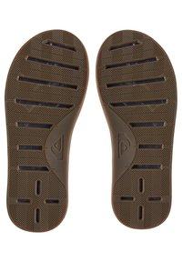 Quiksilver - HALEIWA PLUS - Pool shoes - brown/brown/brown - 2